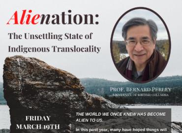 Poster featuring Prof. Bernard Perley