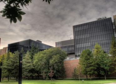 The Mechanical Engineering Building at the University of Alberta