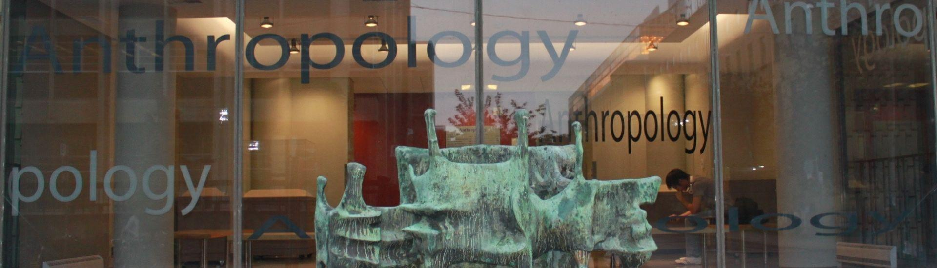 Front Windows of Anthropology Department